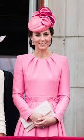 pink dress kate middleton wearing pink mcqueen dress popsugar