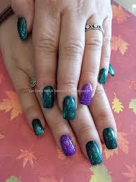 green and purple nail art images nail art designs