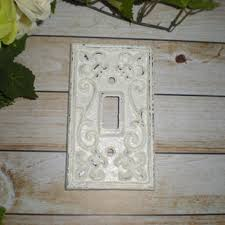 Shabby Chic Light Switch Covers by Best Painted Light Switch Plates Products On Wanelo