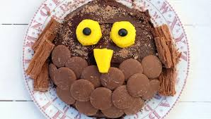 Simple Cake Decorating Simple Chocolate Owl Cake Decorating For Kids Flora Uk