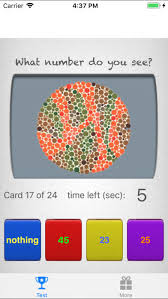 Colour Blind Test Free Online Colorblind Eye Exam Test On The App Store