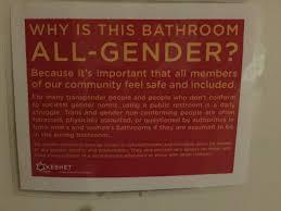 Gender Neutral Bathrooms In Schools - los angeles high opens all gender bathroom saboteur365