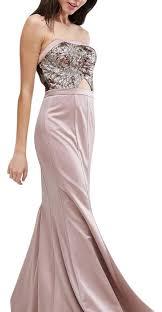 gold maxi dress gold bandeau casual maxi dress size 2 xs tradesy