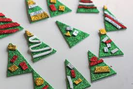 christmas tree pencil toppers craft great class gift no time