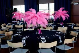 wedding table decorations ostrich feathers archives decorating