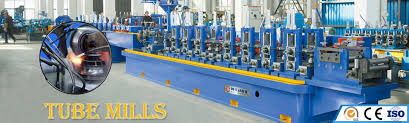 tube mills roll forming machines slitting lines cut to length