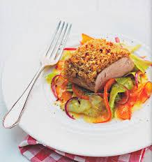 rezepte sterneküche rezept schweinekrustenfilet spitzkohl kürbis johann lafer