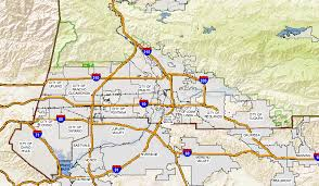 map of san bernardino california geographic information systems gis home
