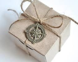 nautical wedding favors 100 wedding favor boxes brown kraft favours 2x2 box gift