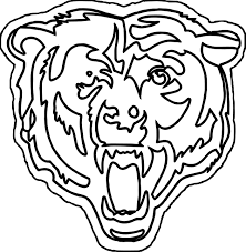 bear outline coloring pages wecoloringpage