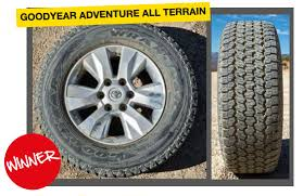 Goodyear Wrangler Off Road Tires First Tyre Test Win For Goodyear Wrangler All Terrain Adventure