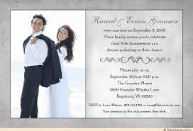 10 year anniversary card message 10th anniversary invitation photo mod gray colors card