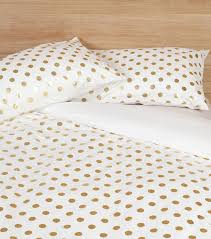 Gold Polka Dot Bedding Elegant Polka Dot Doona Cover 37 On Most Popular Duvet Covers With