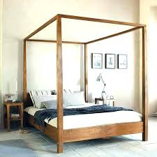 Wrought Iron Canopy Bed Iron Canopy Bed Frame Ezpass Club