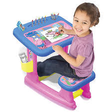 Desk Accessories For Children by Peppa Pig Pepc001 Kids Children Colouring On Drawing Eating