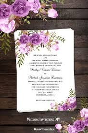 Wedding Invitation Diy Printable Wedding Invitations Programs Reception Seating Chart Plans