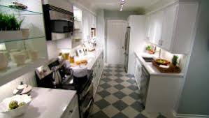 ideas for narrow kitchens small kitchen design ideas hgtv