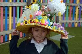 easter bonnets photo of the day greensted school easter bonnets news yellow