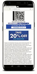 bed bath beyond 20 off bed bath beyond mobile coupons codebroker