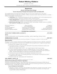 Resume Sample Electrician by Sample Resume For Electrician Foreman Augustais