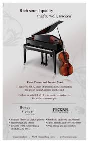 ad un piano ad for the inside cover of the playbill for broadway s wicked