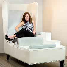 label throne u0026 foot spa pedicure chair for nail salon