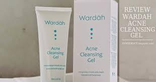 Sabun Muka Wardah review wardah acne cleansing gel si pembersih wajah untuk kulit