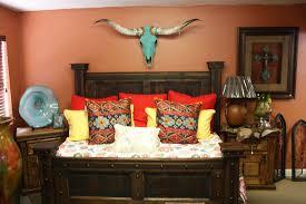 Southwest Bedroom Furniture Western Decor Rustic Tables Southwestern Furniture Agave