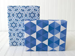 hanukkah wrapping paper hanukkah eco friendly gift wrap set wrappily eco friendly gift wrap
