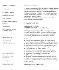 Sample Dental Resume by Doctor Resume Sample Documents In Pdf Psd