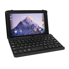 walmart android tablet rca voyager 7 16gb tablet with keyboard android 6 0 black