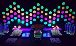 glow in the party 15 awesome glow in the birthday party ideas spaceships and