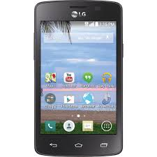 tracfone lg sunrise 4gb prepaid smartphone black walmart com
