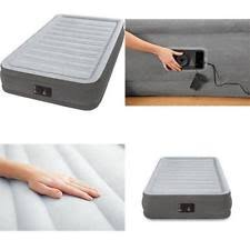 swiss gear insta bed twin air mattress airbed w built in comfort