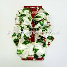 Red Butterfly Christmas Tree Decorations by Red Butterfly Bow Ties With Twist Edge And Double Ears For