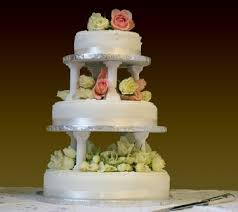 cake tiers i the 3 tear wedding cake and the flowers perhaps a