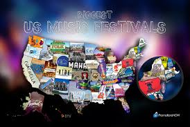 Festival Map Check Out This Map Showing Each State By Their Biggest Music