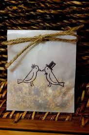 chagne wedding favors 41 best wedding favors images on bird seed favors