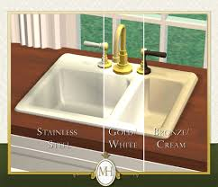 Mod The Sims Manor House Collection Gourmet Kitchen Pt I - Gourmet kitchen sinks