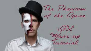 phantom of the opera halloween costume christine the phantom of the opera sfx make up tutorial hd youtube