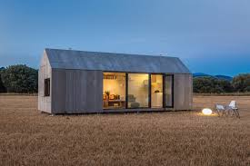 tiny modern house pick me up small modern house can easily be moved from one