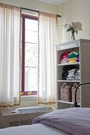 pom pom trim on curtains u2026 pinteres u2026
