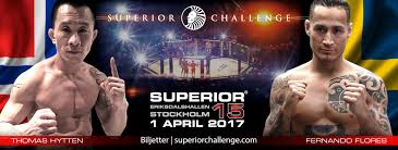44 years old fernando flores now faces thomas hytten at sc 15 nordic mma