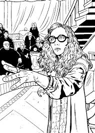 professor magician free coloring page u2022 harry potter movies