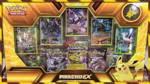 pokemon cards pikachu ex legendary collection box opening