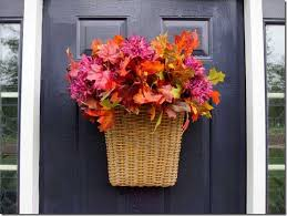 Front Door Decoration Ideas How To Easily Decorate Your Front Door For Fall In My Own Style
