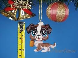 littlest pet shop bernie st croix decoration tree ornament