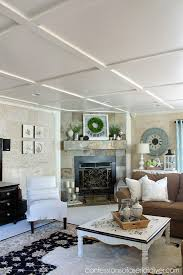 coffered ceiling ideas faux coffered ceiling confessions of a serial do it yourselfer