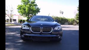 2011 bmw 740li twin turbo youtube