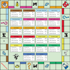 new version of monopoly map for generation rent reveals spiralling